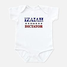 IZAIAH for dictator Infant Bodysuit