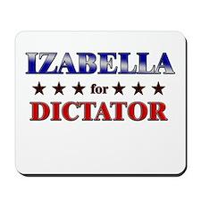 IZABELLA for dictator Mousepad