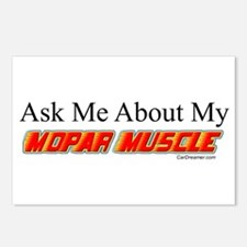 """""""Ask Me About My Mopar"""" Postcards (Package of 8)"""