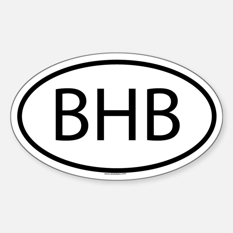 BHB Oval Decal