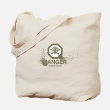 Danger Wrestler Tote Bag