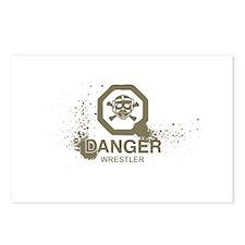 Danger Wrestler Postcards (Package of 8)