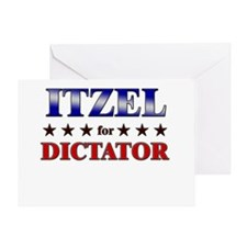 ITZEL for dictator Greeting Card