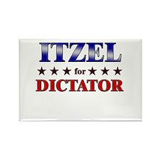 ITZEL for dictator Rectangle Magnet