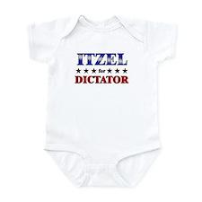 ITZEL for dictator Infant Bodysuit