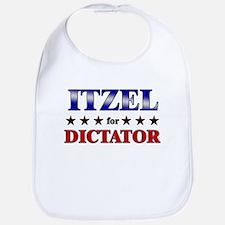 ITZEL for dictator Bib