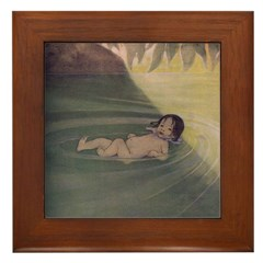 Smith's Water-Babies Framed Tile