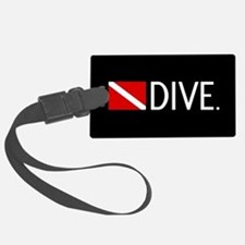 Diving: Diving Flag & Dive. Luggage Tag