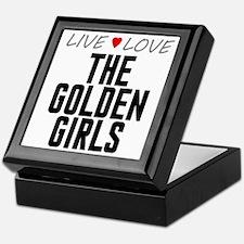 Live Love The Golden Girls Keepsake Box
