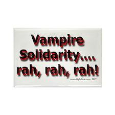 Vampire Solidarity (light) Rectangle Magnet
