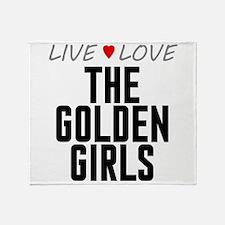 Live Love The Golden Girls Stadium Blanket