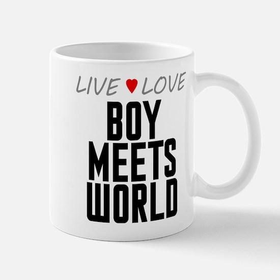 Live Love Boy Meets World Mug