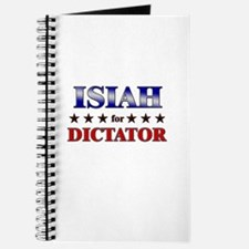 ISIAH for dictator Journal