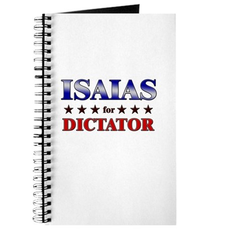 ISAIAS for dictator Journal