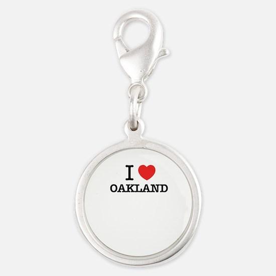 I Love OAKLAND Charms