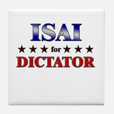 ISAI for dictator Tile Coaster