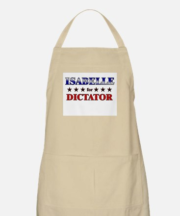 ISABELLE for dictator BBQ Apron