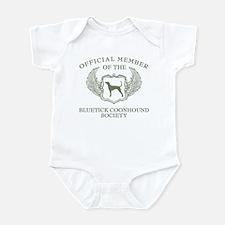 Bluetick Coonhound Infant Bodysuit