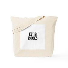 Keith Rocks Tote Bag