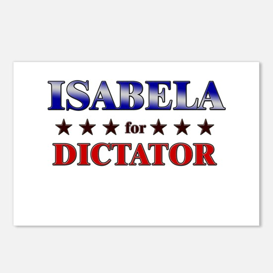ISABELA for dictator Postcards (Package of 8)