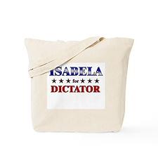 ISABELA for dictator Tote Bag