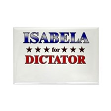 ISABELA for dictator Rectangle Magnet