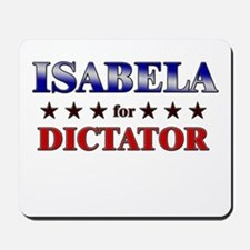ISABELA for dictator Mousepad