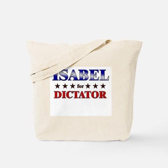 ISABEL for dictator Tote Bag