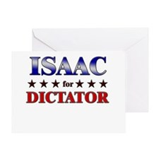 ISAAC for dictator Greeting Card