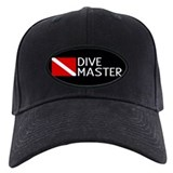 Diving flag and divemaster Black Hat