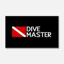 Diving: Diving Flag & Dive Mast Car Magnet 20 x 12