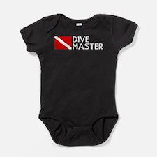 Diving: Diving Flag & Dive Master Baby Bodysuit