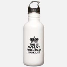 I Am Panamanian Water Bottle