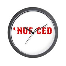 NUF CED Wall Clock