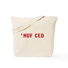 NUF CED Tote Bag