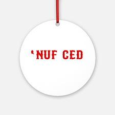 NUF CED Ornament (Round)