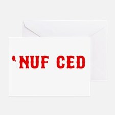 NUF CED Greeting Cards (Pk of 20)