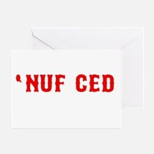 NUF CED Greeting Card