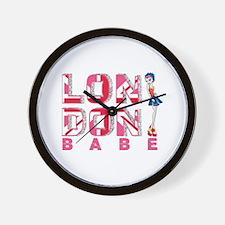 LDN Skirt Babe 03 Wall Clock