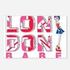 LDN Skirt Babe 03 Postcards (Package of 8)
