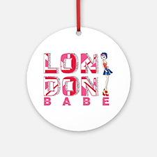 LDN Skirt Babe 03 Ornament (Round)