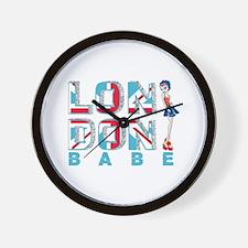 LDN Skirt Babe 04 Wall Clock