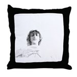 New Orleans cemetery art Throw Pillow