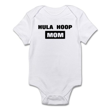 HULA HOOP mom Infant Bodysuit
