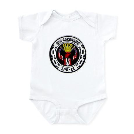 USS CORONADO Infant Creeper