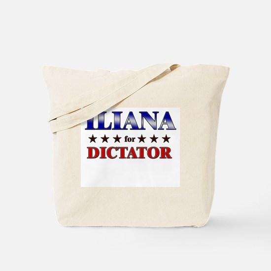 ILIANA for dictator Tote Bag
