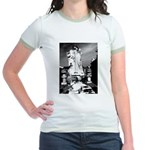 New Orleans cemetery art: mo Jr. Ringer T-Shirt