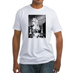 New Orleans cemetery art: mo Fitted T-Shirt