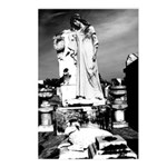 New Orleans cemetery art: mo Postcards (Package o