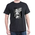 New Orleans cemetery art: mo Black T-Shirt
